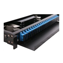 New Arrival China for China 19' Rack Mount Fiber Patch Panel, Fiber Adapter Plate Enclosures, Fiber Patch Panel Exporter 19' Fiber Sliding Type Patch Panel export to Turkey Supplier