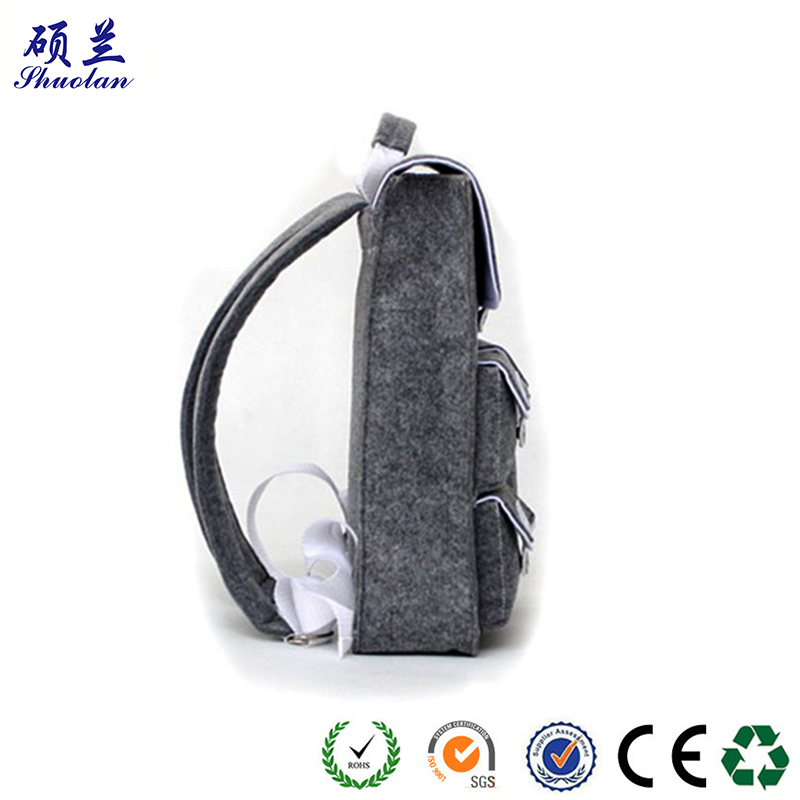 Top Quality Felt Backpack Bag