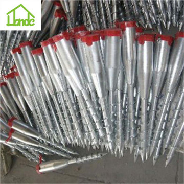 China for Fence Ground Screw High quality umbrella ground screw anchor supply to Mayotte Manufacturer