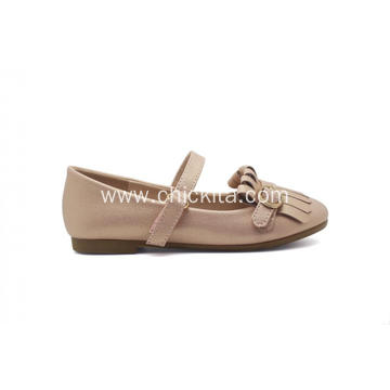 Renewable Design for for Ballet Flats Beige Tassels Ballerinas Girl Shoes supply to Italy Factories