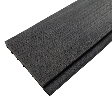 Dark Grey & Black Marine EVA Faux Teak Strip