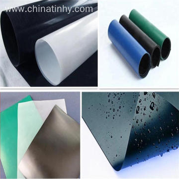 Black Blue Color Pond Liner HDPE Geomembrane