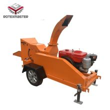 China for Towable Diesel Engine Wood Chipper Diesel engine type tree branches wood chipper supply to Belgium Wholesale