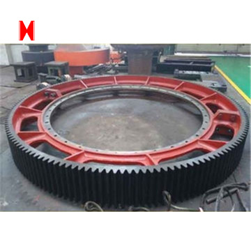 Forging/casting pinion gear ring