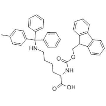 L-Lysin, N 2 - [(9H-Fluoren-9-ylmethoxy) carbonyl] -N 6 - [(4-methylphenyl) diphenylmethyl] CAS 167393-62-6