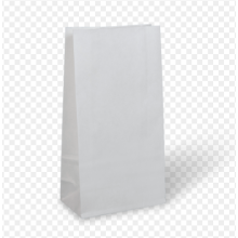 White SOS Paper Bag
