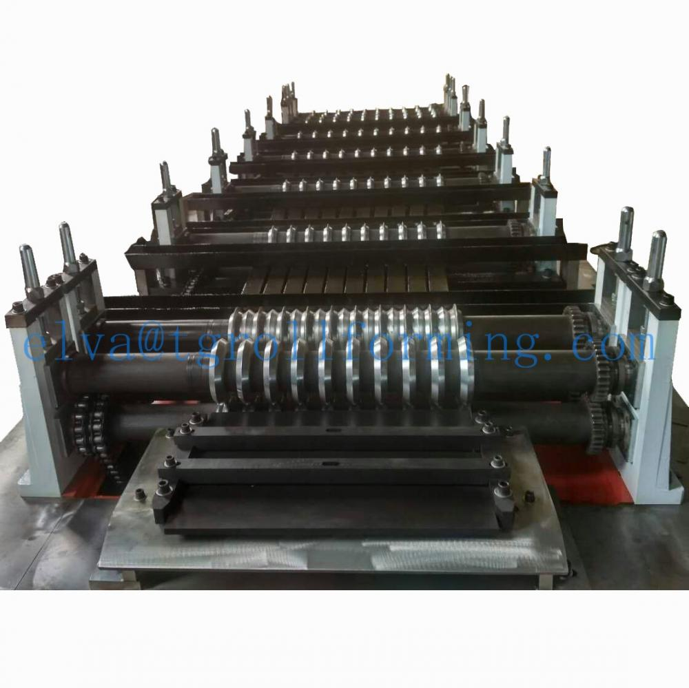 Galvanized high Rib formwork mesh machine