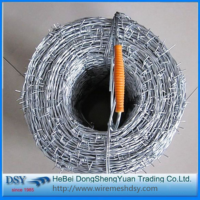 barbed wires price per roll for hot sale