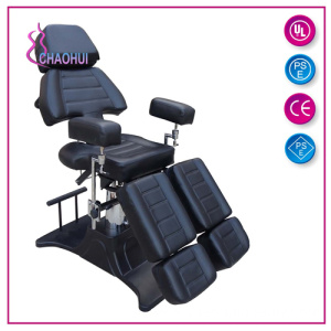 ODM for China Tattoo Chair, Hydraulic Tattoo Chairs, Adjustable Tattoo Chair supplier Hot Sale Multi Function Tattoo Bed Black Color supply to Germany Factories