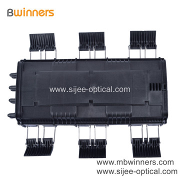 96 Core Fiber Optic Splice Joint Closure Box 6 In 8 Out