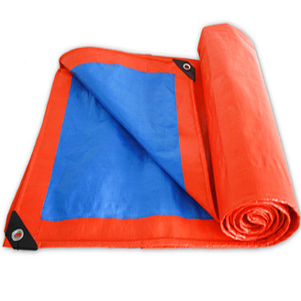 200gsm Orange Blue Tarpaulin