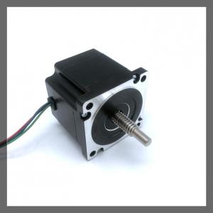 NEMA34/86mm linear stepper motor through shaft type