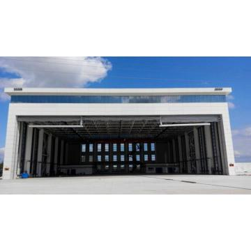 Mega Hangar Grutte PVC Anti-Wind Stacking Door