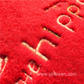 Wholesale custom printed and embroidered shaggy mat