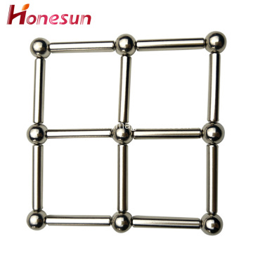 magnetic stick construction bars toy