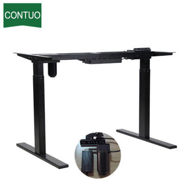 Top for Single Motor Standing Desk Single Motor Standing Computer Desk Adjustable On Wheels supply to South Korea Factory