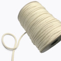 3mm 4mm 5mm Braided Macrame Cord Natural Cotton Rope