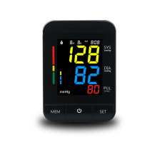 High Accuracy Backlight Automatic Blood Pressure Monitor