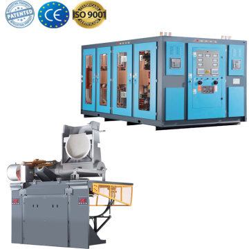 Medium frequency electromagnetic induction melting furnace