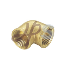 Brass 90 degree female elbow