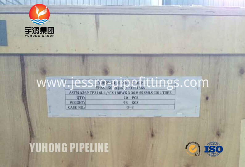 SS Coil Tubing 316L
