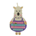 New llama pattern on christmas advent calendar