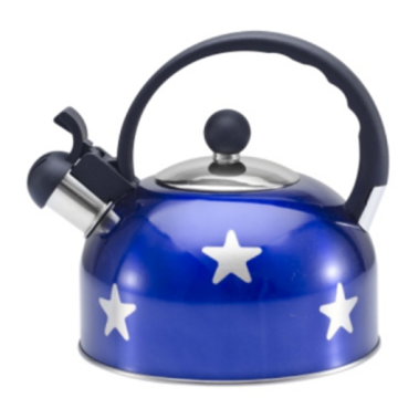 1.5L color painting Teakettle blue color