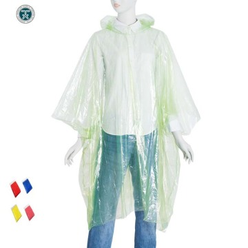 Disposable LDPE Rain Ponchos