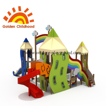 Color Pen Style Outdoor Playground Equipment For Sale