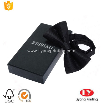 Custom paper bow tie packaging gift box