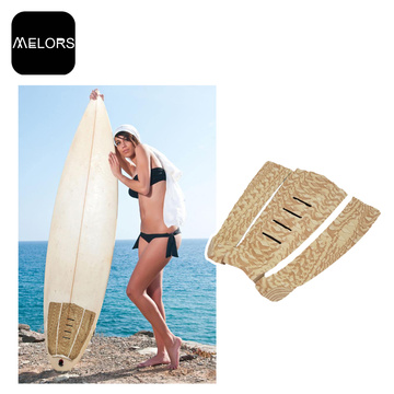 Melors EVA Foam Stomp Traction Pad For Surfboard