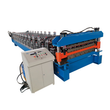 Stand Type Double Deck Roll Forming Machine