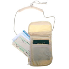 Blank Plain Rfid Blocking Passport Holder
