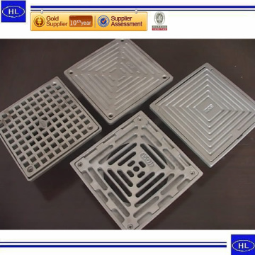 Best Quality for Stainless Steel Turning Parts Casting Square Floor Drain OEM supply to Israel Factories