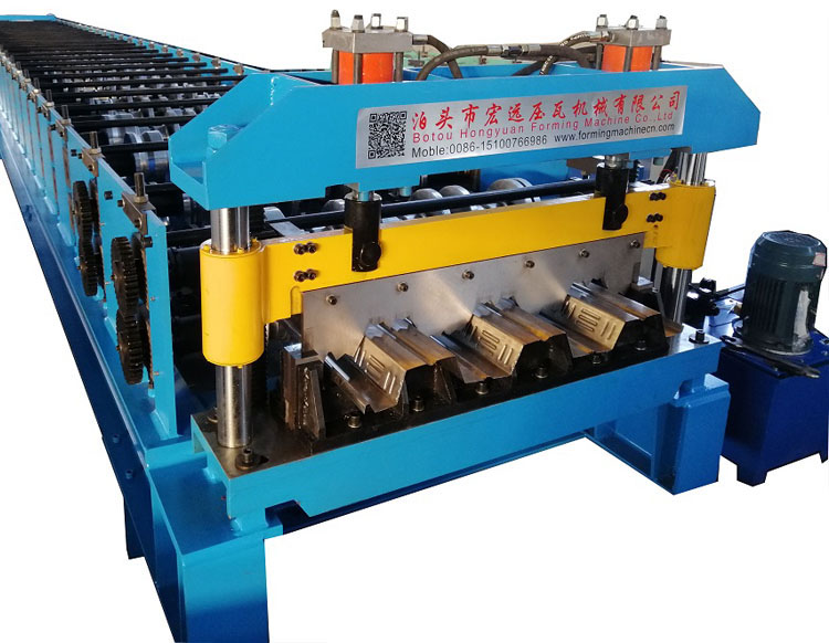 Floor Tile Decking Making Machine