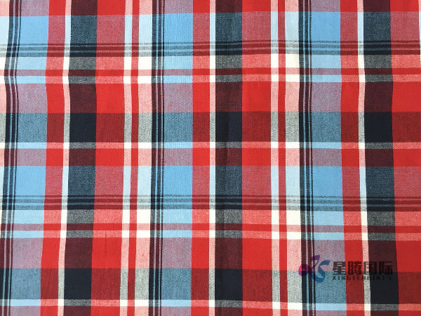 Plaid Cotton Clothe Textile