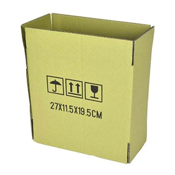 Environmentally friendly logistics carton
