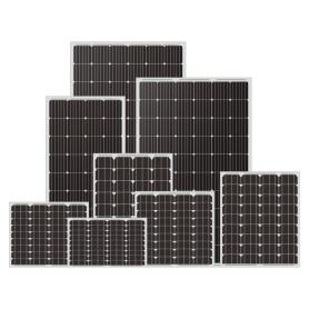 Off-Grid 5W-340W Monocrystal Solar Panel