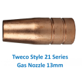 Tweco 21-50 13mm Gas Nozzle