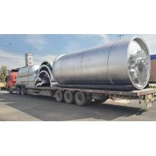 Best quality and factory for Tire Pyrolysis Equipment waste tyre pyrolysis to fuel plants export to Bermuda Manufacturers
