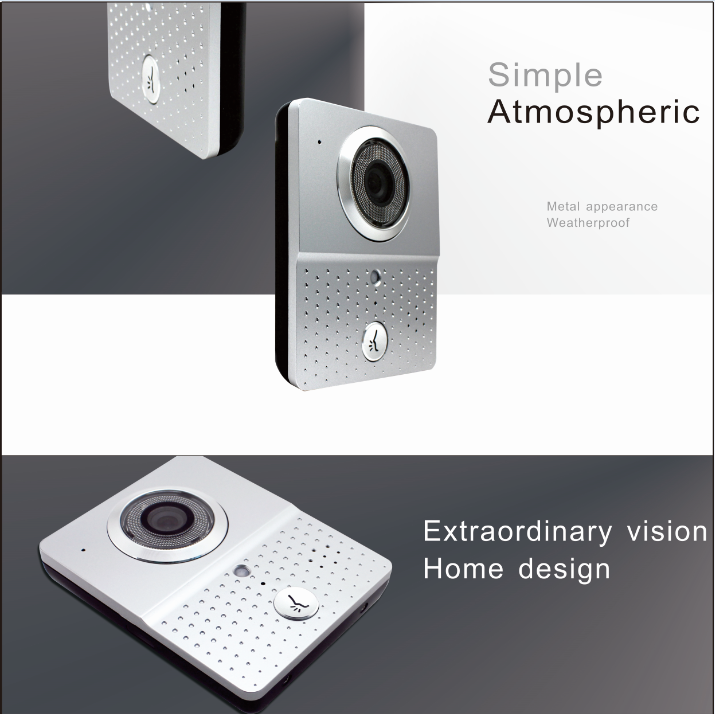 Wireless Doorbell with Camera