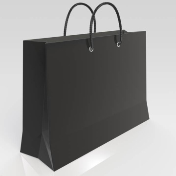 Strong Handle Kraft Paper Classic Outlook Paper Bag