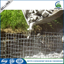 ISO9001 security galvanized welded stone gabion