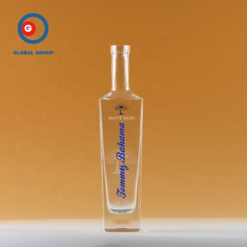 750 ml Glass Square Wine Spirit Bottle