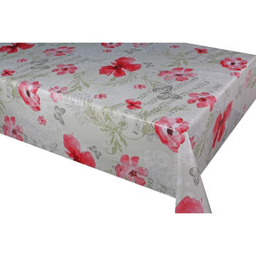Elegant Tablecloth with Non woven backing Jual