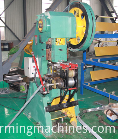 Slotted Angle Roll Forming Machine