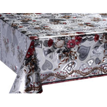 OEM for Double Face Silver Gold Tablecloth Quality Double Face Emboss printed Gold Silver Tablecloth supply to Armenia Manufacturers