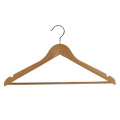 High Quality Finishing Wooden Custom Clothes Hanger