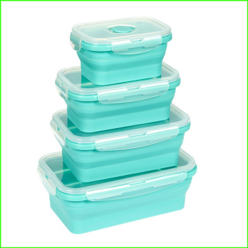 100% Food Grade Silicone Lunch Bento Box