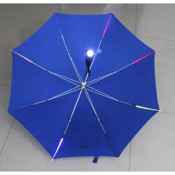 Led Business umbrella Creative Flashlight Windproof Fold